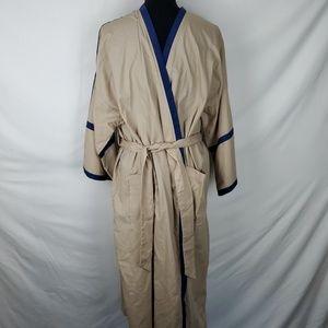 Tan & Blue Robe by Christian Dior Monsieur